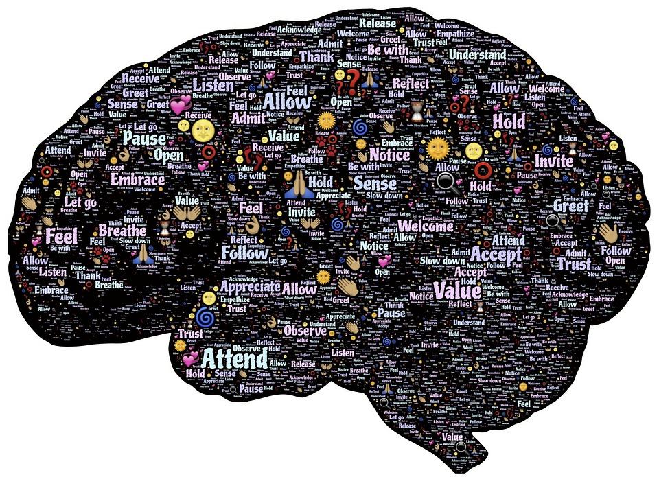 Te veel gedachten in een hoofd.
